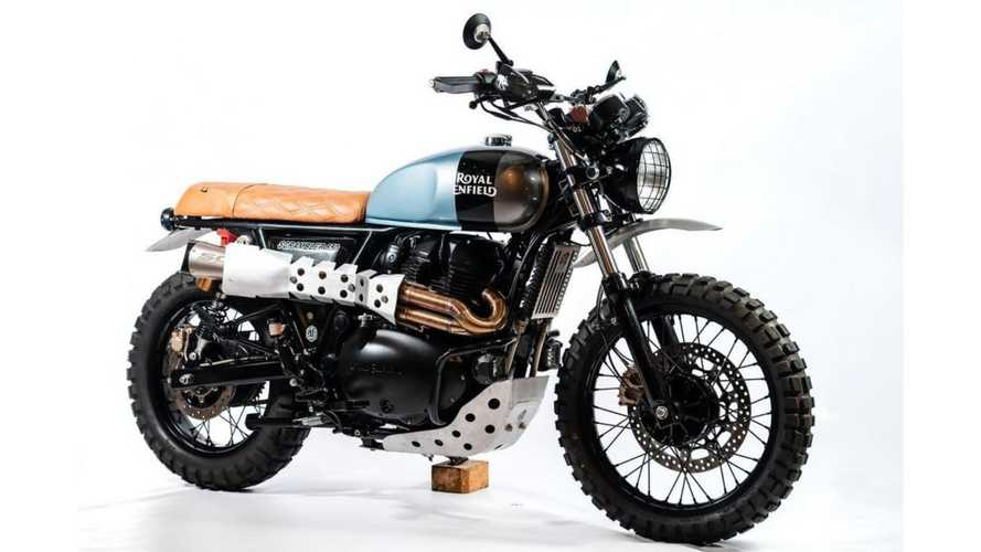 This Custom Royal Enfield Scrambler Is Ready To Hit The Trails