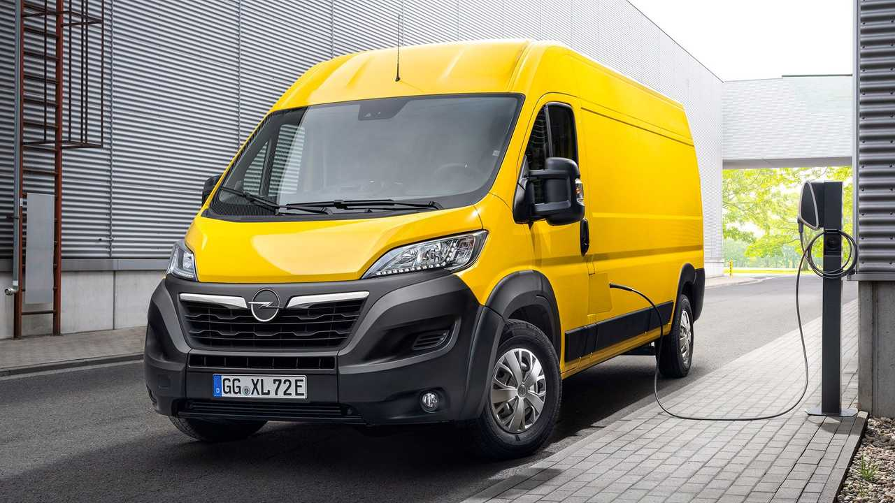 Der neue Elektro-Movano von Opel basiert auf Fiat-Technik