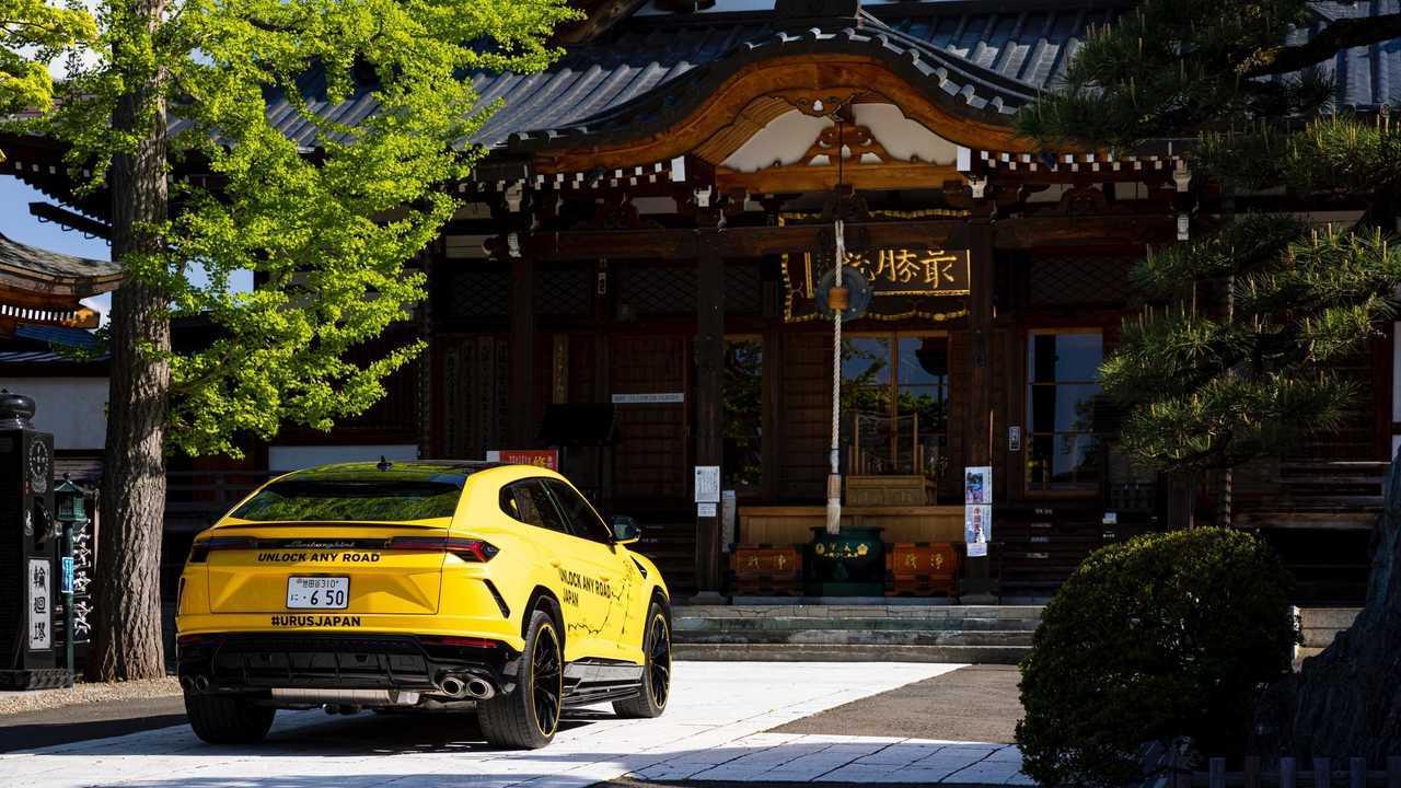 Lamborghini Urus - Desbloquea Any Road Japan