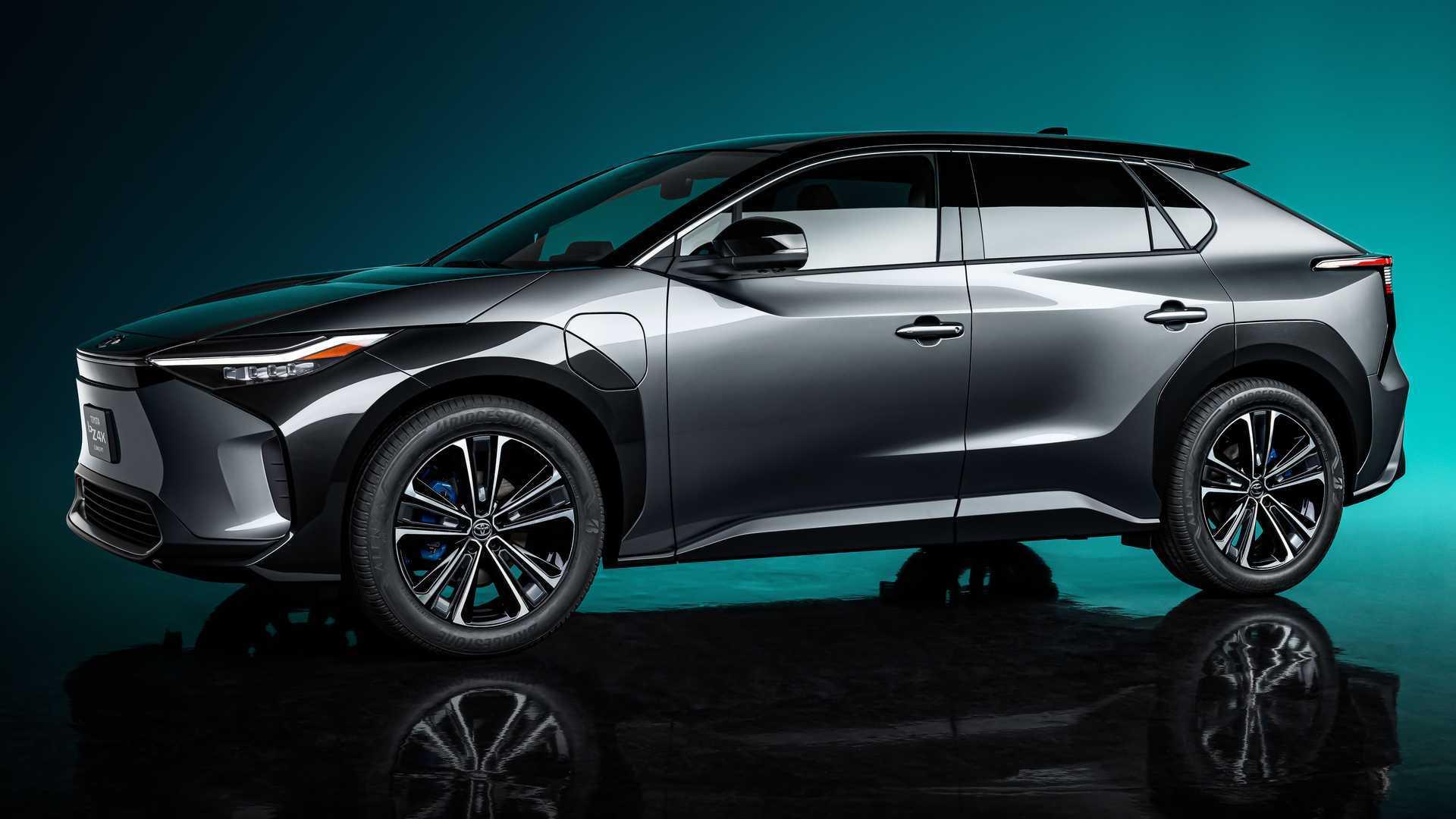 Toyota Reveals Electric SUV bZ4X Concept  image