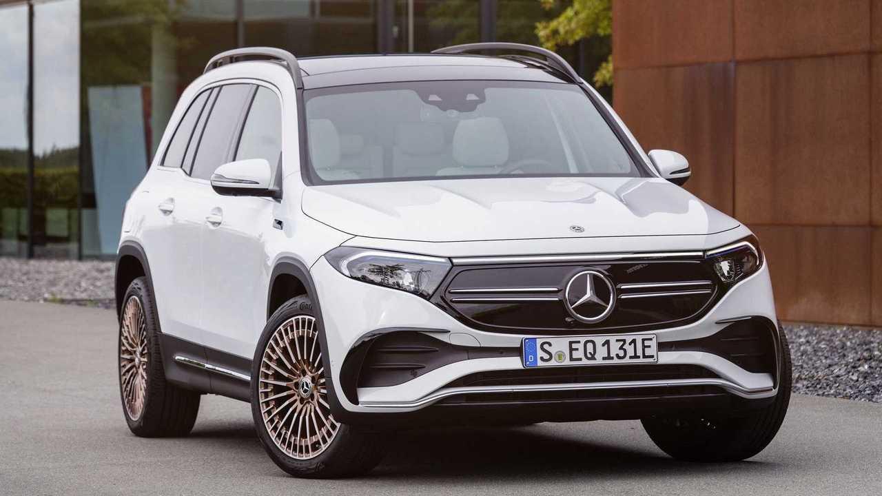 Mercedes EQB - perfil 3/4