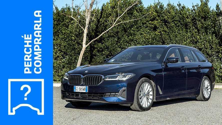 BMW Serie 5 Touring (2021), perché comprarla e perché no