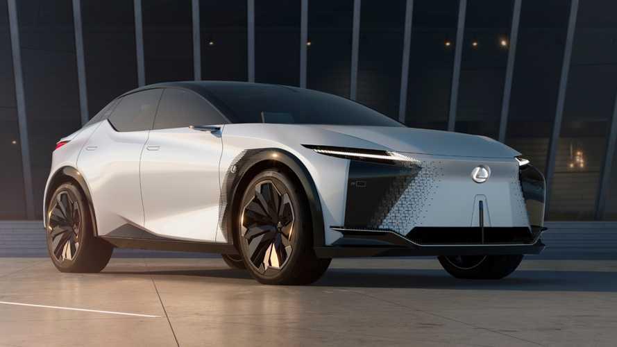Lexus présente son nouveau concept-car LF-Z Electrified