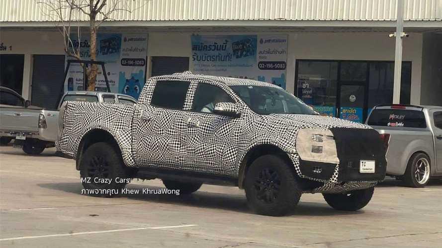 Nova Ford Ranger Raptor 2023 terá motor com mais de 400 cv; veja flagra