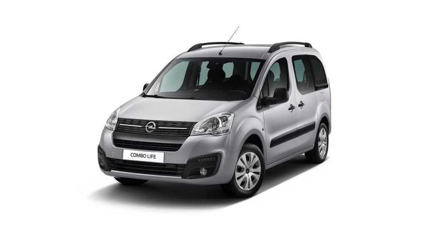 Opel представил Combo Life специально для России