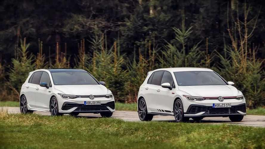 VW Golf GTI Clubsport (2021) vs. VW Golf R (2021) im Vergleich