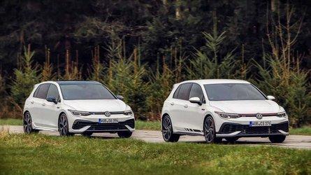 VW Golf GTI Clubsport (2021) gegen VW Golf R (2021)