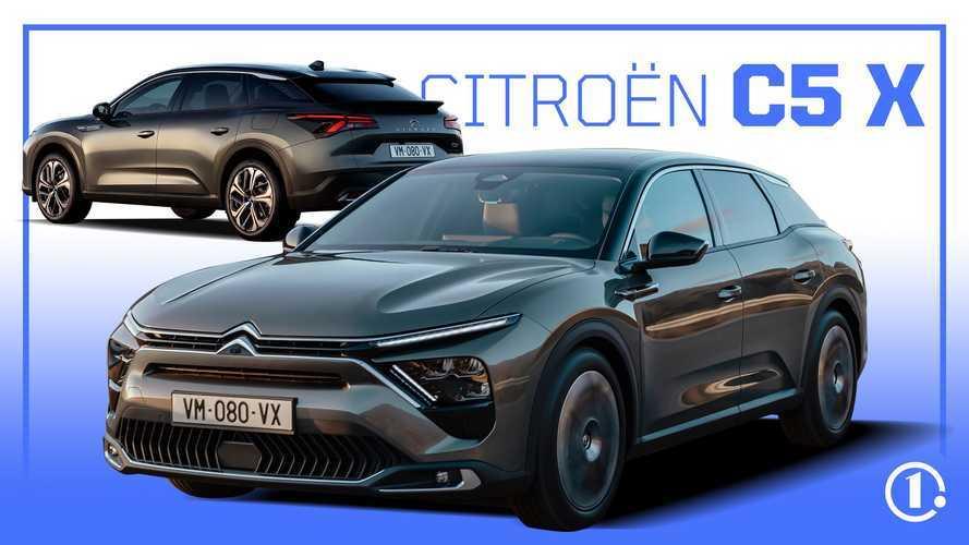 Vidéo - Citroën C5 X,  découvrez la grande berline-SUV