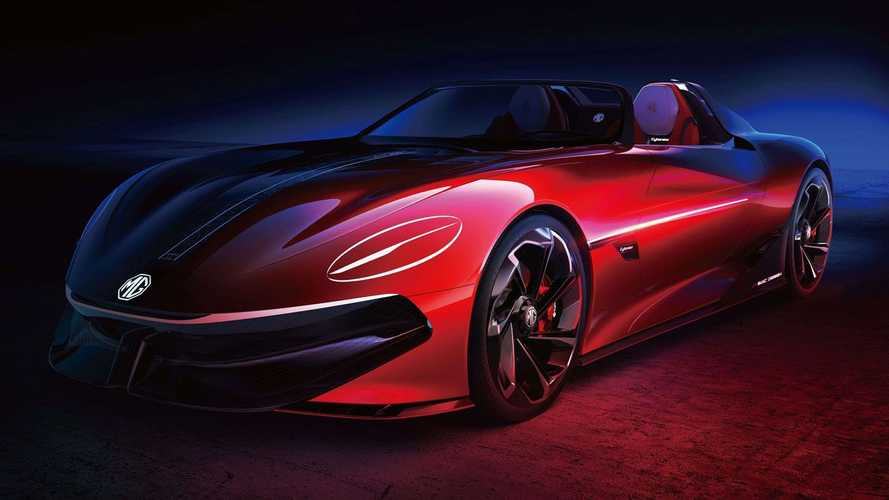 MG Cyberster Electric Roadster Concept Previews An Emotive Sports Car