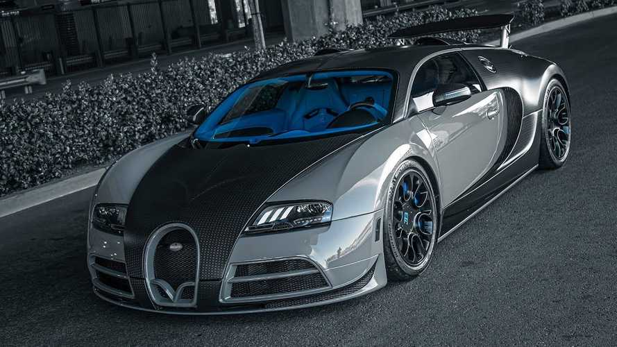 West Coast Customs peint une rare Bugatti Veyron en gris Nardo