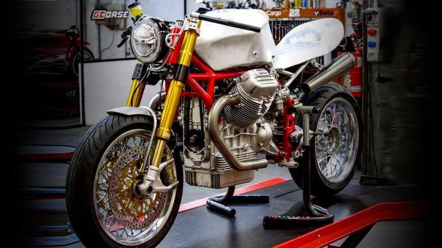 Moto Guzzi: Guareschi celebra i 100 anni con una special