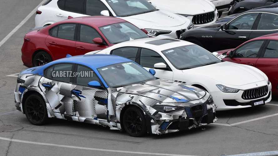 2022 Maserati GranTurismo Test Mule Spy Photos