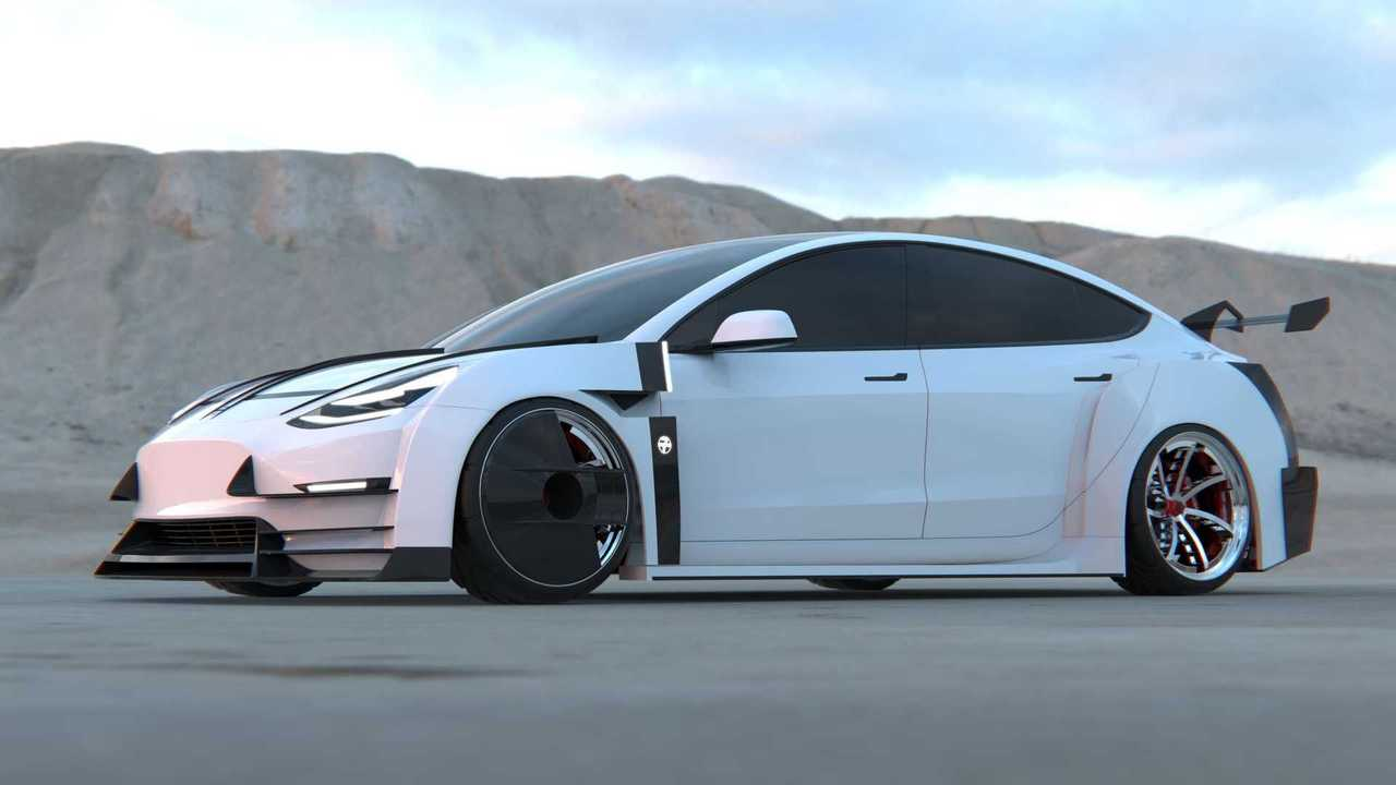 Tesla Model 3 tuning by 7evenkill