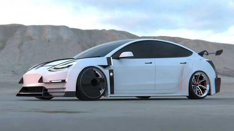 Tesla Model 3, il tuning estremo