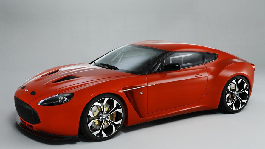 Aston Martin V12 Vantage Zagato comes to life [video]