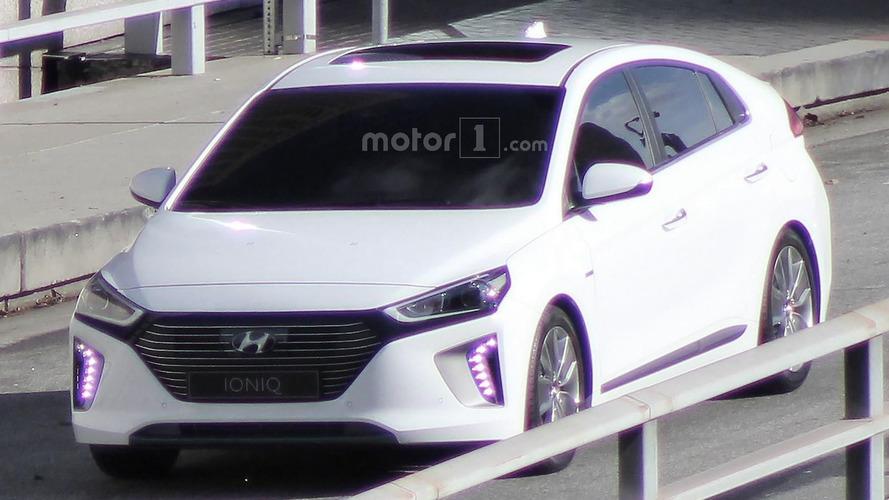 2017 Hyundai Ioniq spied undisguised