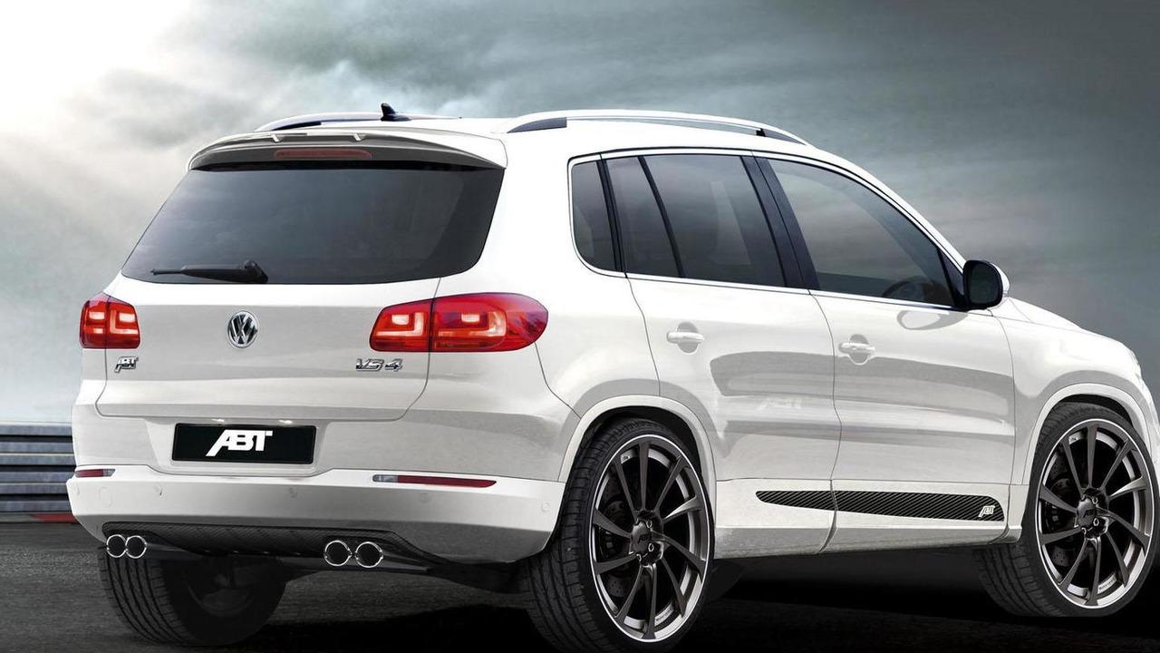 VW Tiguan facelift by Abt Sportline - 28.7.2011