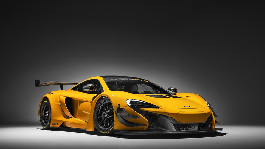 2016 McLaren 650S GT3 ready to race