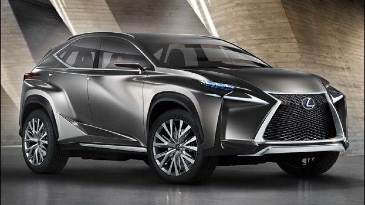 [Copertina] - Lexus LF-NX Concept