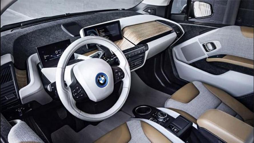 BMW i3, l'auto del futuro è fatta di