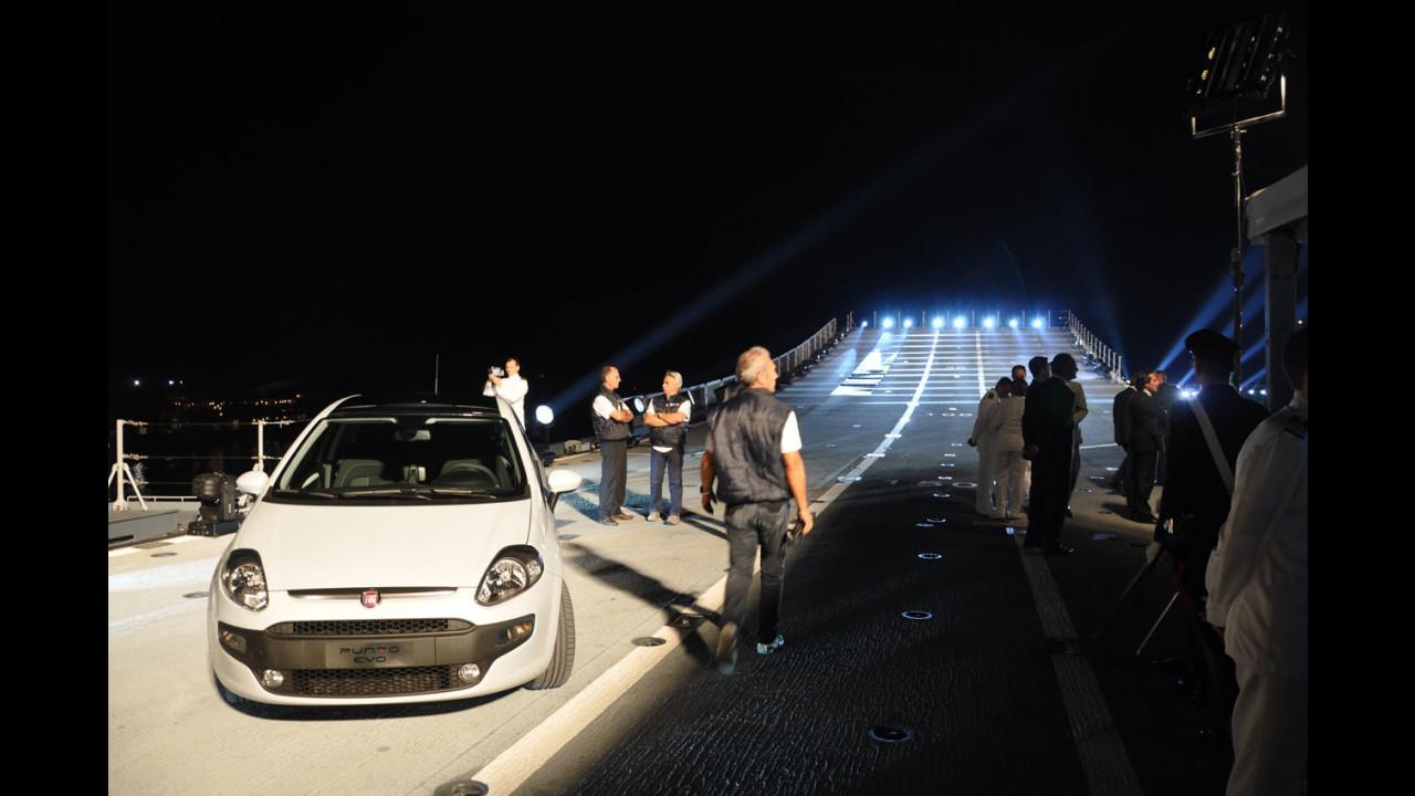 La presentazione della Fiat Punto Evo