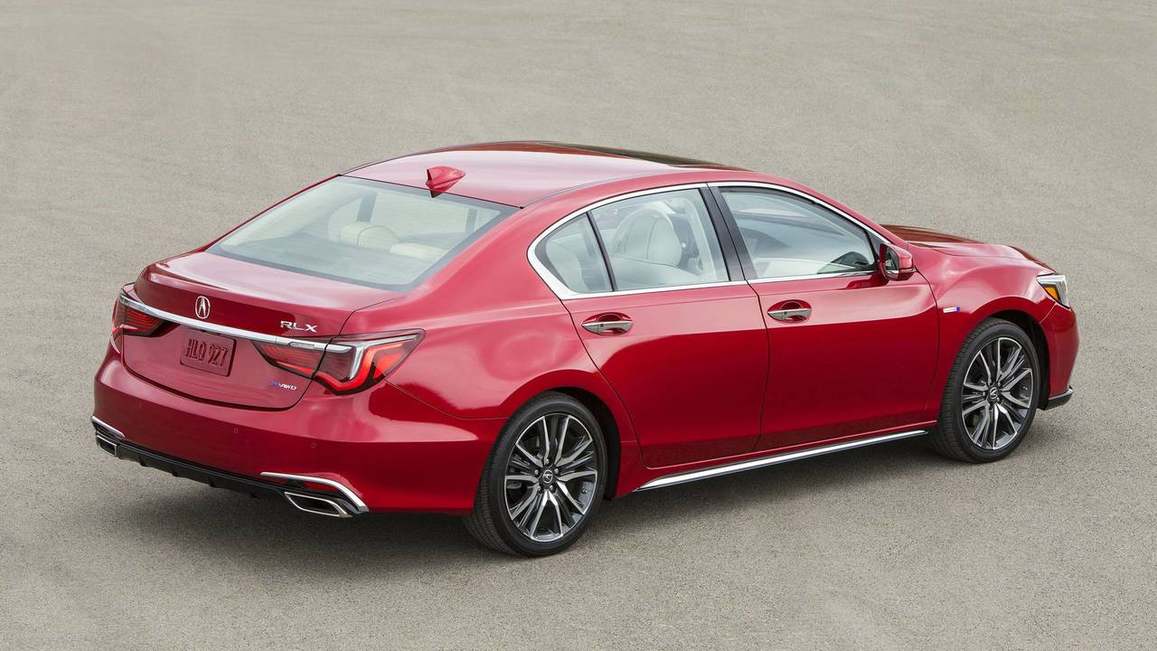 2018 Acura Rlx Sport Hybrid All Around Efficiency