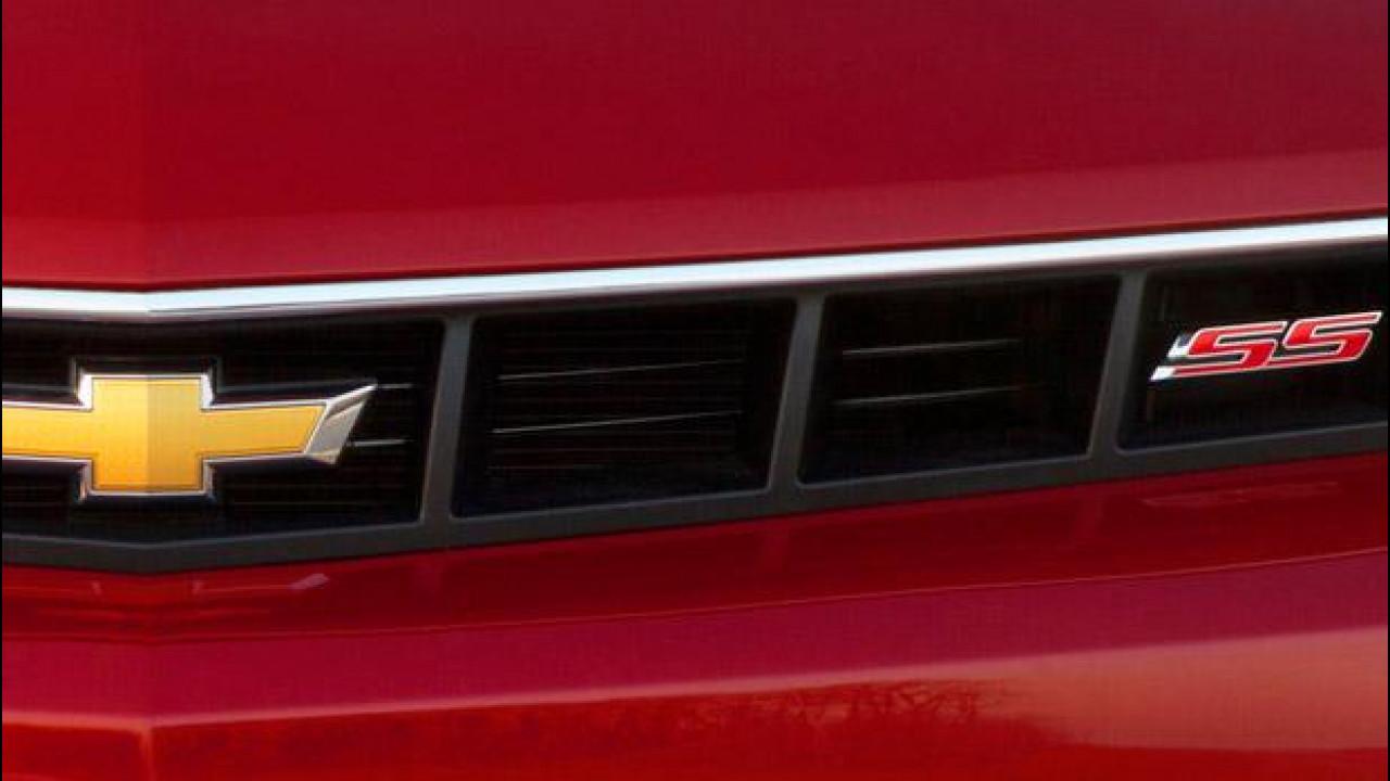 [Copertina] - Chevrolet Camaro SS: il teaser
