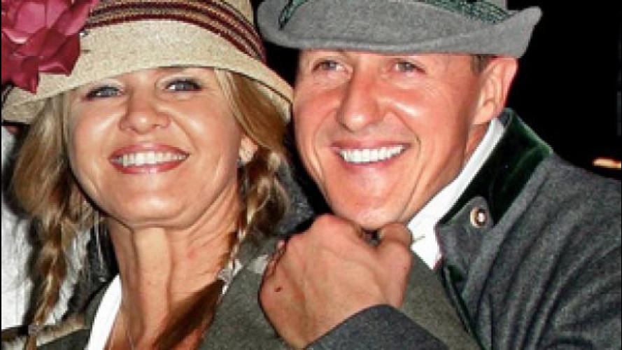Schumacher sta migliorando, parola di Corinna