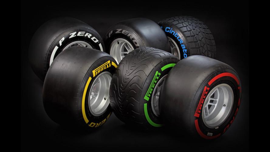 Formula 1: le Pirelli per i primi tre GP del 2012