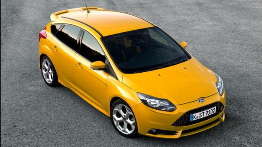 Nuova Ford Focus ST: prezzi da 30.500 euro