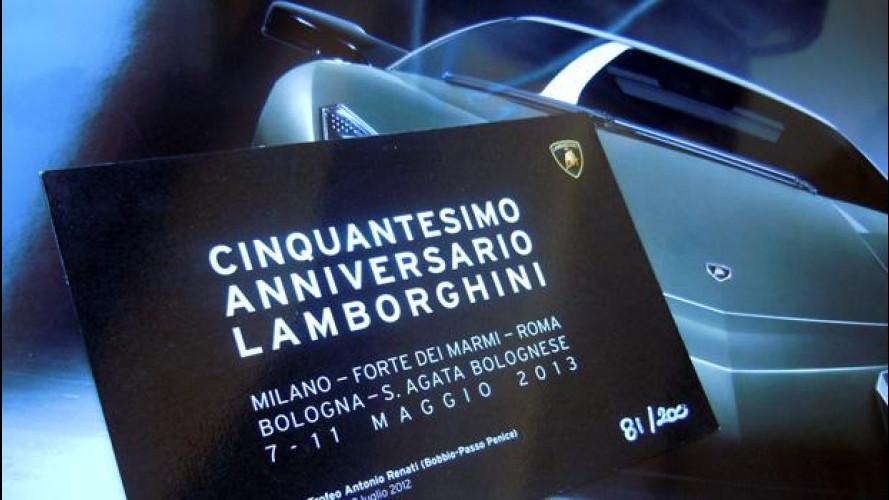 Lamborghini prepara il più grande raduno del Toro