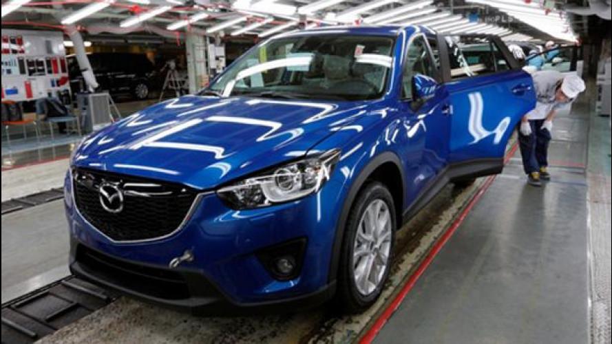 Mazda CX-5, il crossover controcorrente