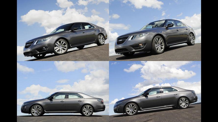 Nuova Saab 9-5: le prime foto