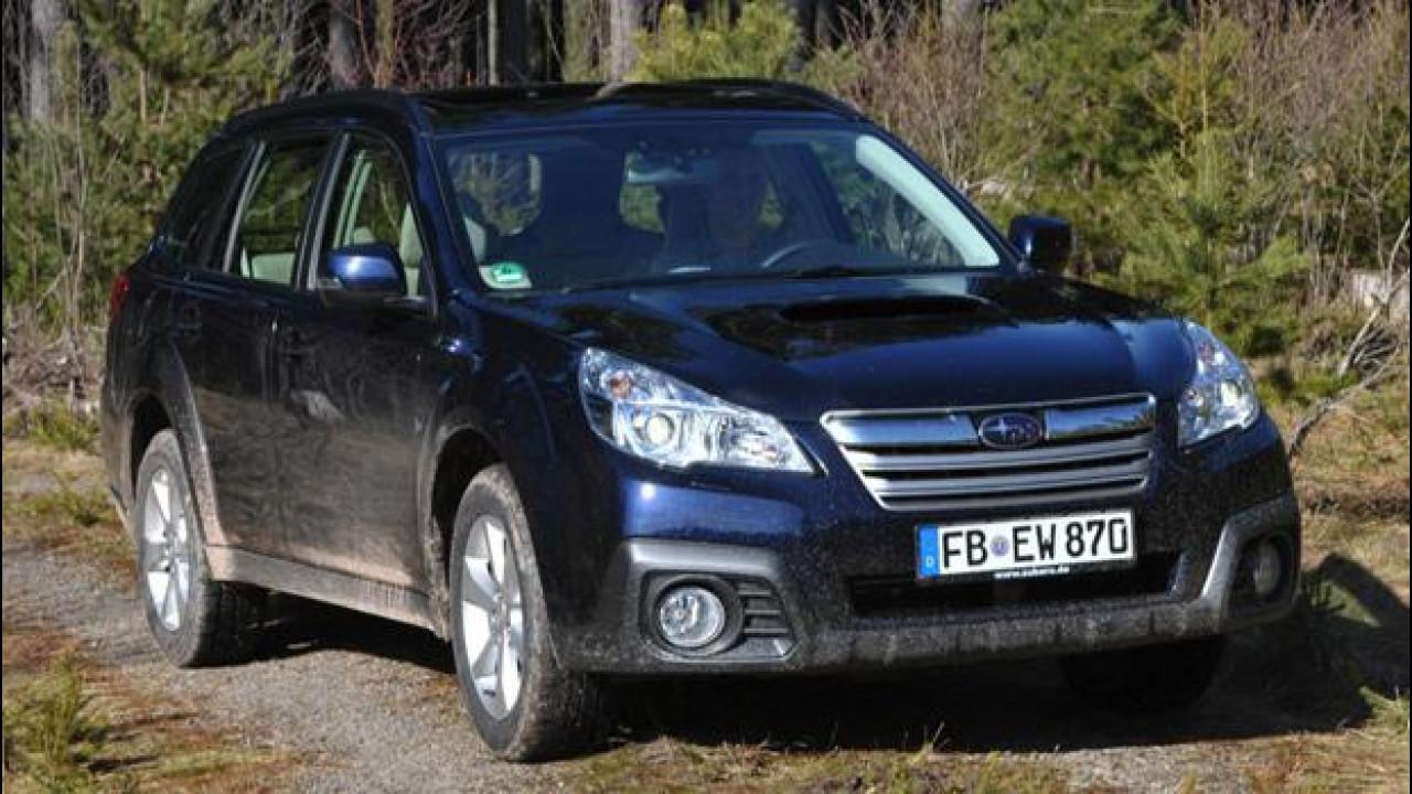 [Copertina] - Subaru Outback Diesel Lineartronic, silenziosa e divertente