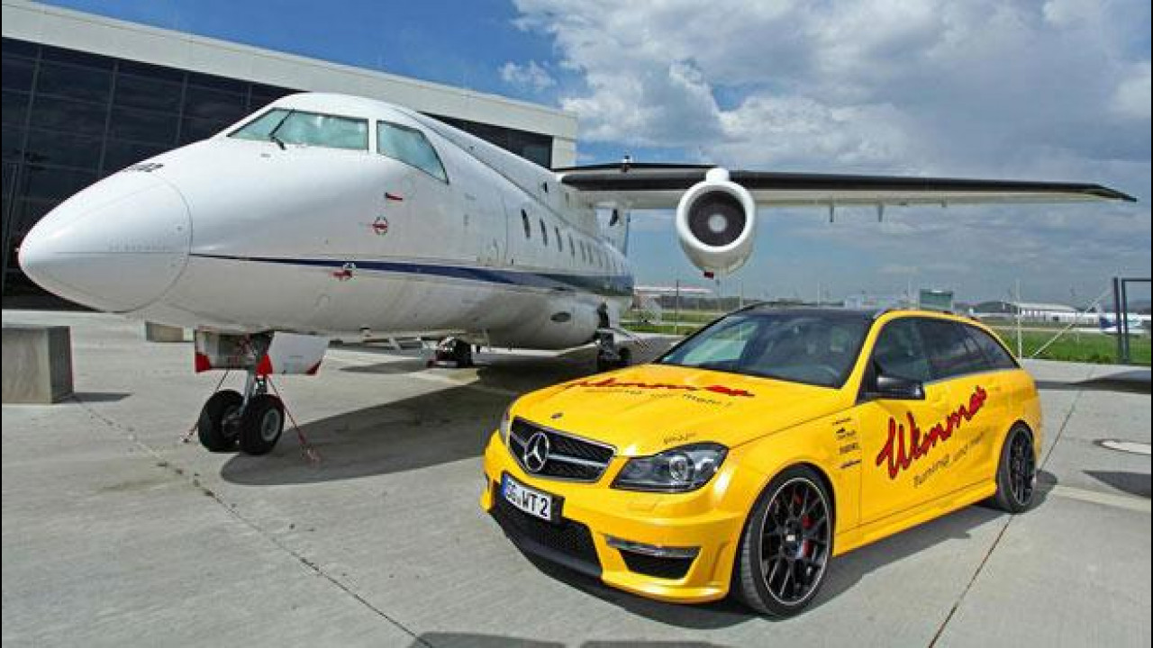 [Copertina] - Mercedes C 63 AMG Station Wagon by Wimmer