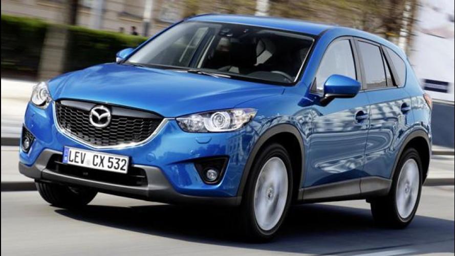 """Mazda CX-5: un design """"giapponese"""" per l'Europa"""