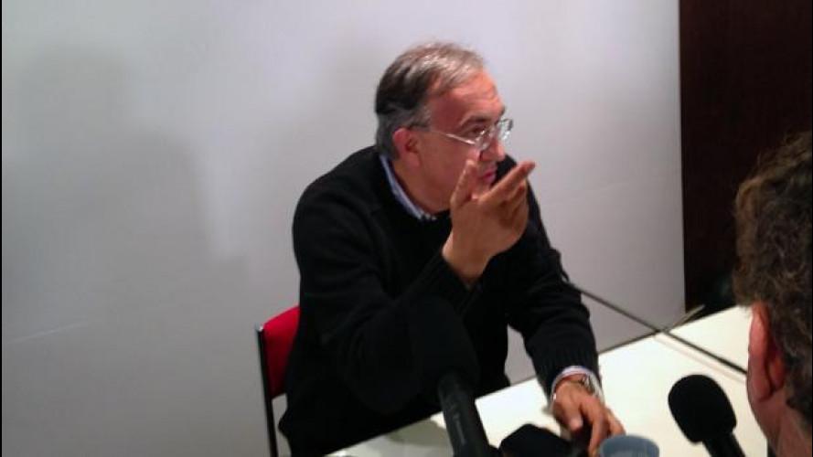 Salone di Parigi, le parole di Sergio Marchionne