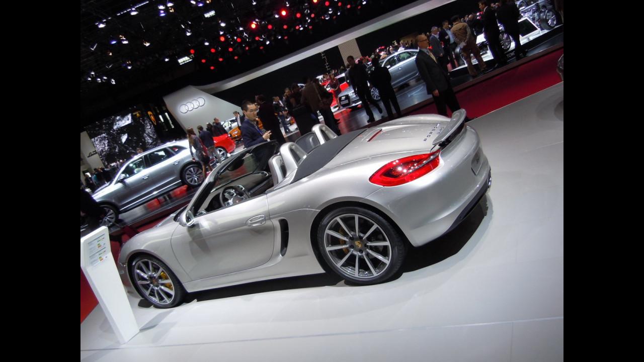 Porsche Boxster, scolpita nel metallo