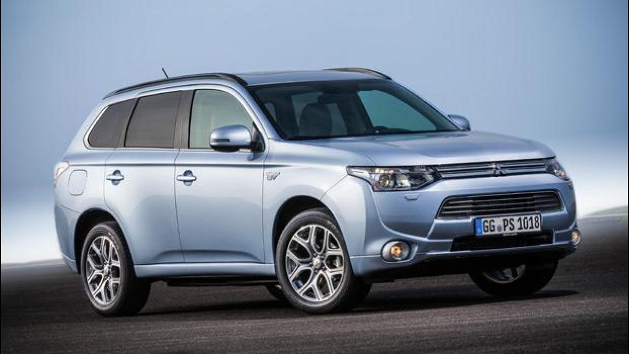 [Copertina] - Mitsubishi Outlander Plug-in Hybrid, al via le vendite in Europa