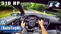 Volkswagen Golf R Performance Pack hızlanma videosu