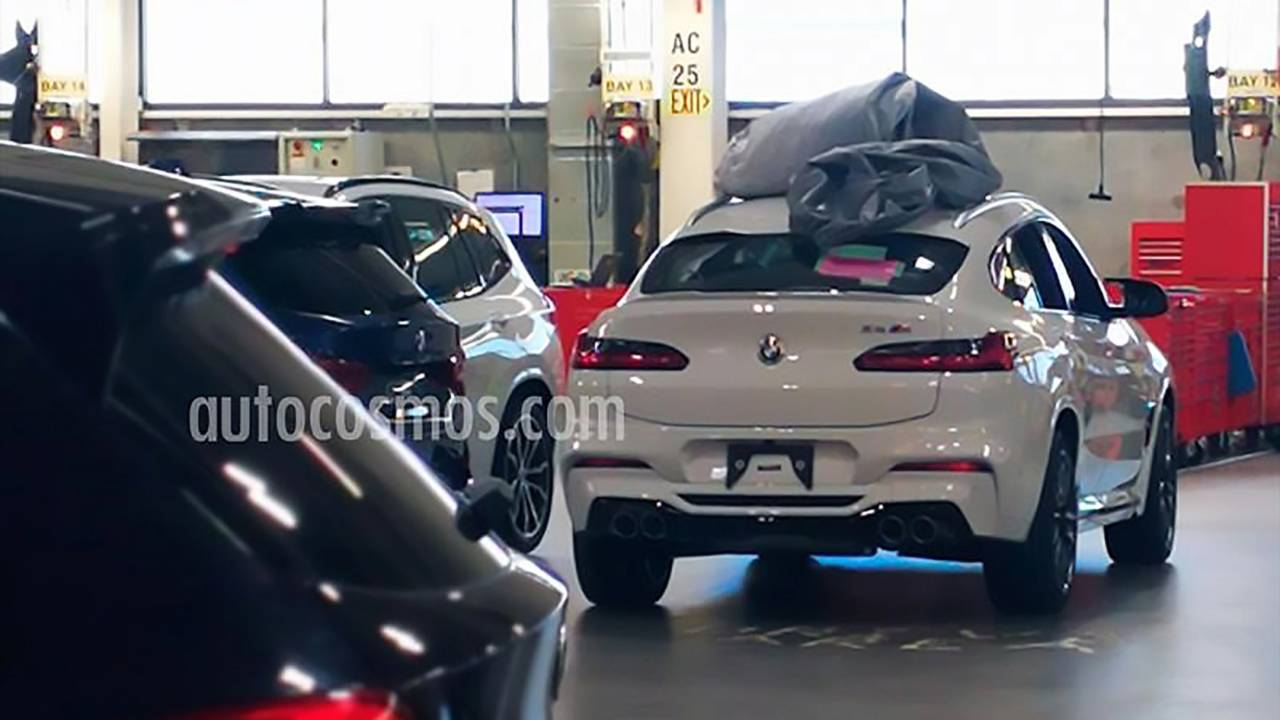 BMW X4 M Spy Photo