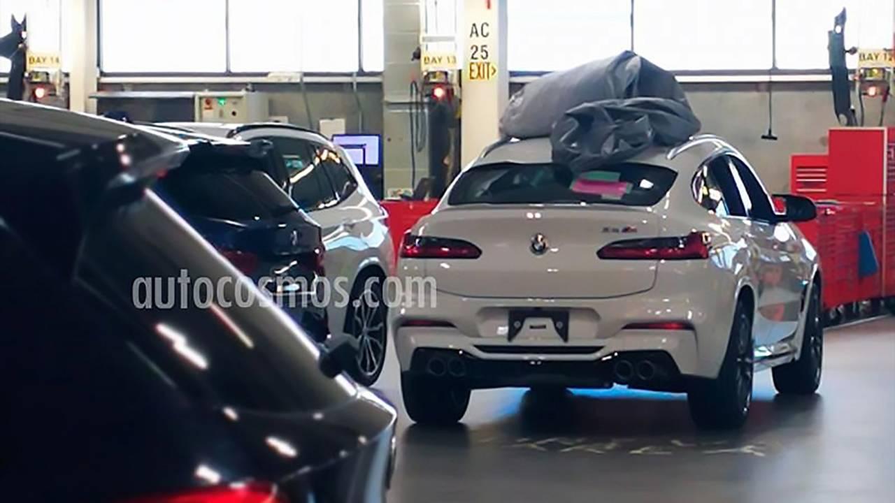 BMW X4 M Spy Photo