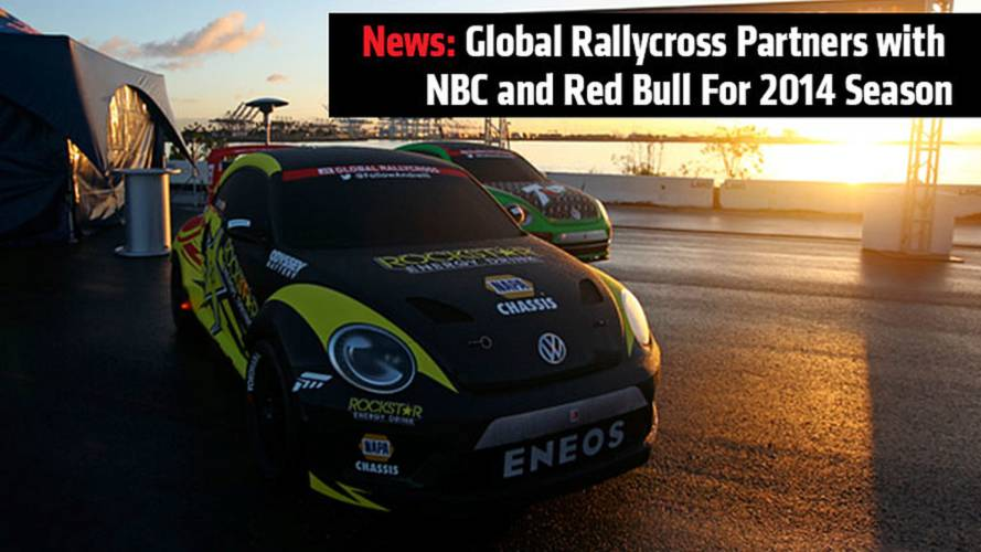 Global Rallycross Partners with NBC and Red Bull for the 2014 Season