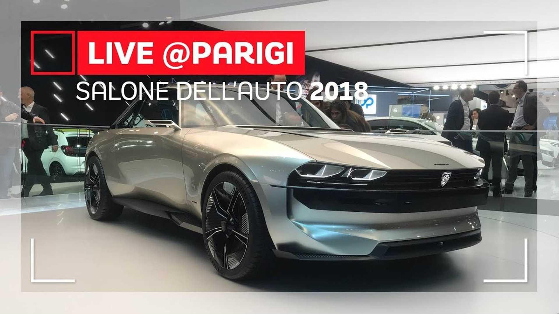 Peugeot E Legend La Restomod Che Conquista Il Salone Di Parigi