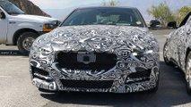 Jaguar XE Facelift spy shots