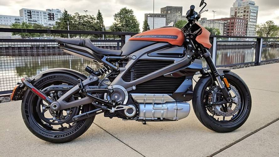 U.S.-Built Harley Electric Bike Shown in Production Skin