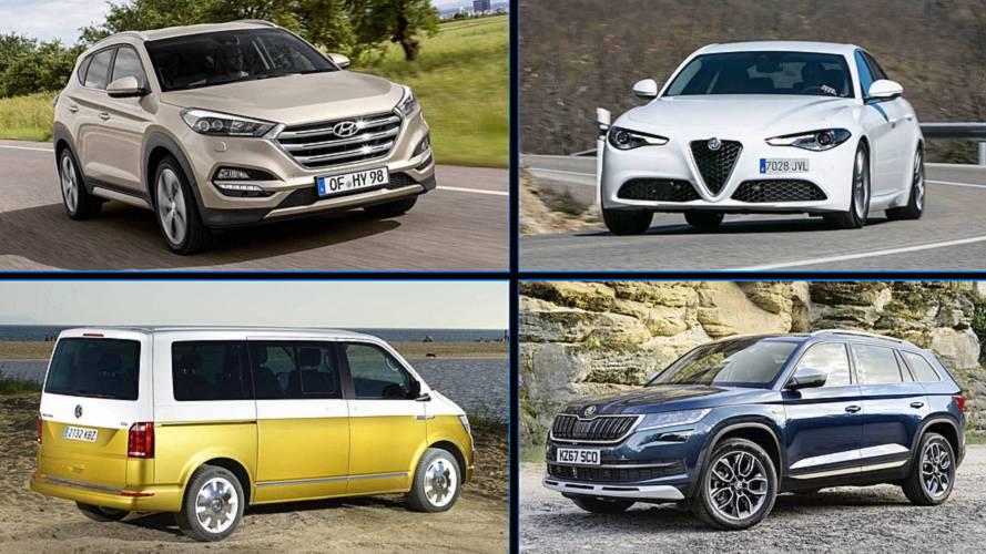 ¿Qué coche elegirías para ir de vacaciones? Estos son nuestros favoritos