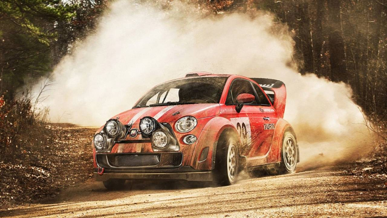 Abarth 500 Rally