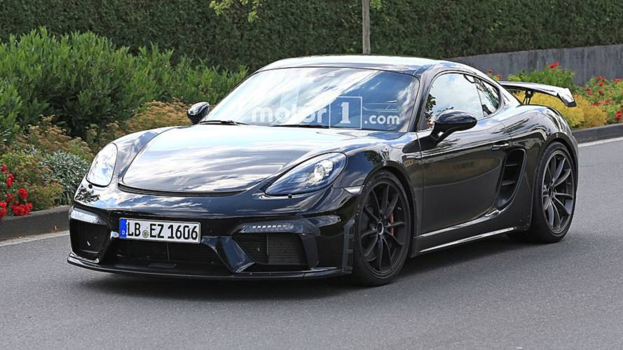 La prochaine Porsche 718 Cayman GT4 de nouveau surprise