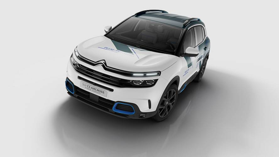 Citroen C5 Aircross reveals hybrid concept ahead of Paris debut
